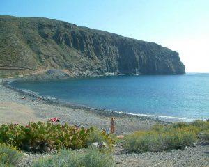 Playa del Callao en Arona, Tenerife.