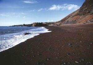 Playa El Verodal en Frontera, El Hierro.