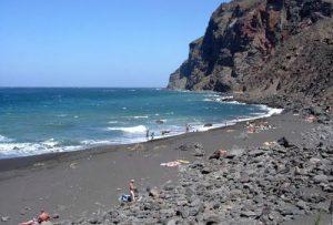 Playa del Inglés en Valle Gran Rey, La Gomera.