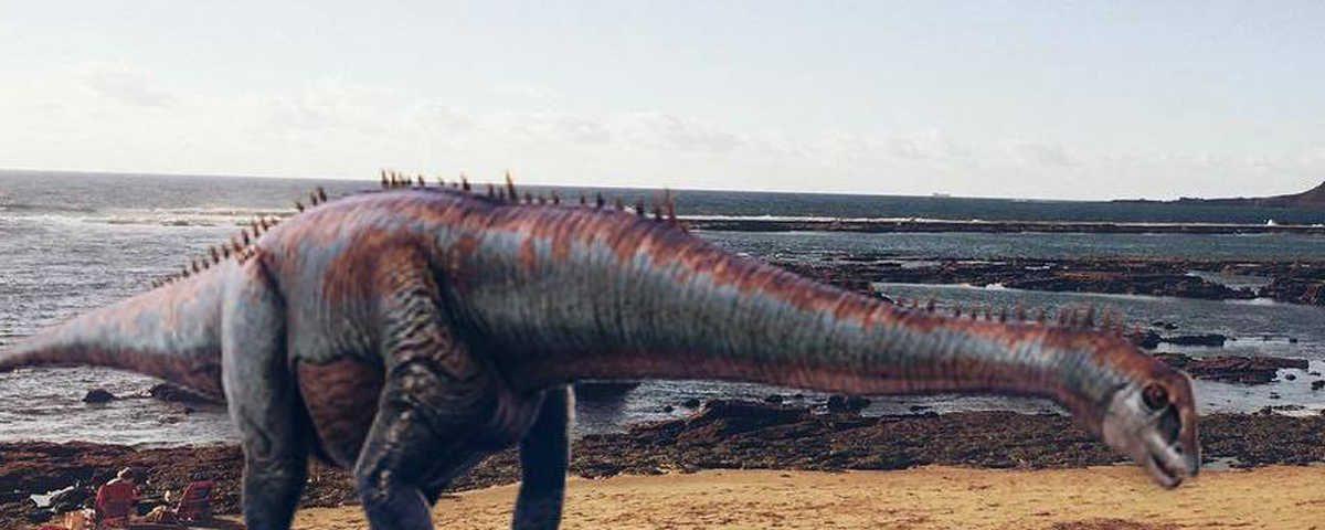 Dinosaurios en Las Canteras 1
