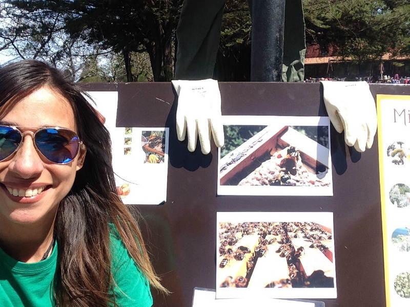 Lula Gonzalez apicultura Urbanapicultura