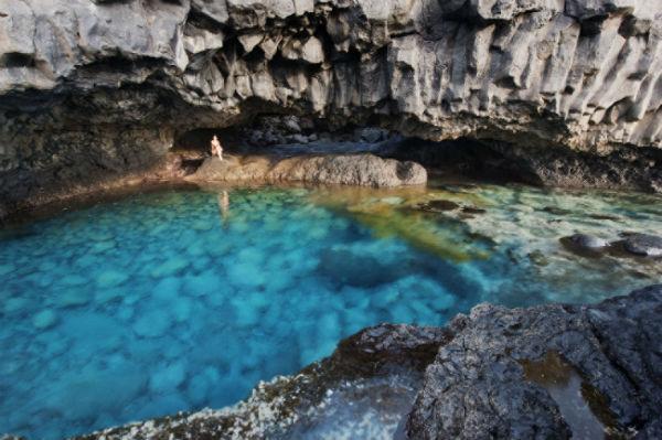 Playas de Canarias. Charco Azul, La Frontera (El Hierro) FOTO: TURISMO CANARIAS