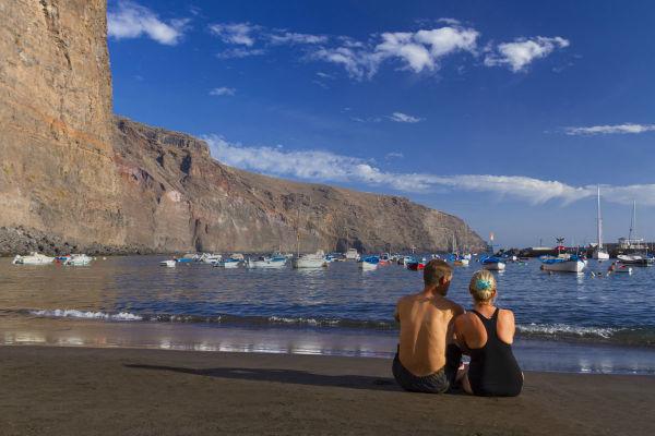 Playas de Canarias. La Calera, Valle Gran Rey (La Gomera) FOTO: TURISMO CANARIAS