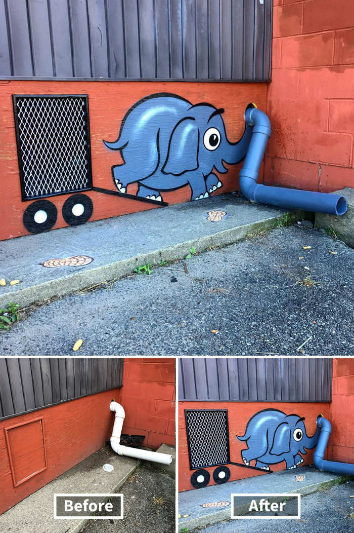 Tom Bob el artista que transforma espacios urbanos en arte 1