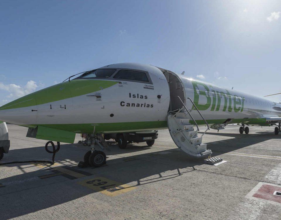 El transporte interinsular hace historia en Canarias