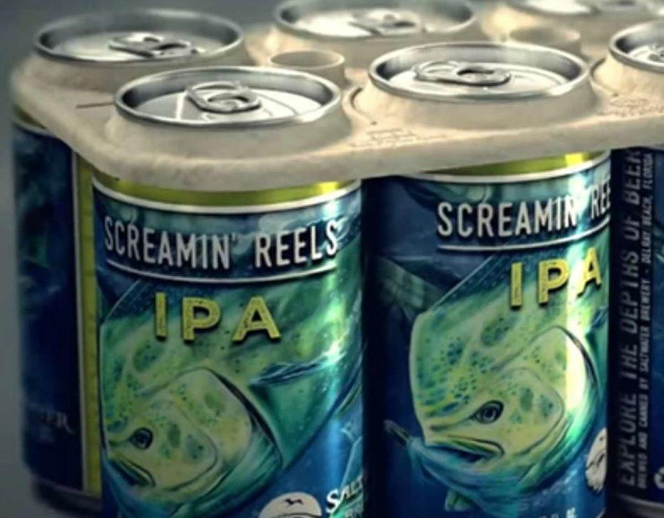 201801 Llegan los anillos biodegradables para las latas de cerveza