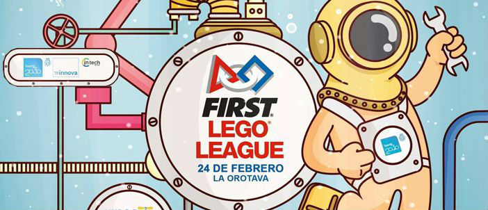 201802 Vuelve la FIRST Lego League a Canarias
