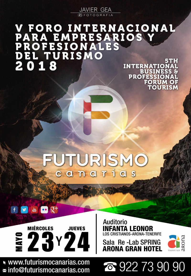 Regresa Futurismo Canarias 2018 el gran foro turistico del archipielago