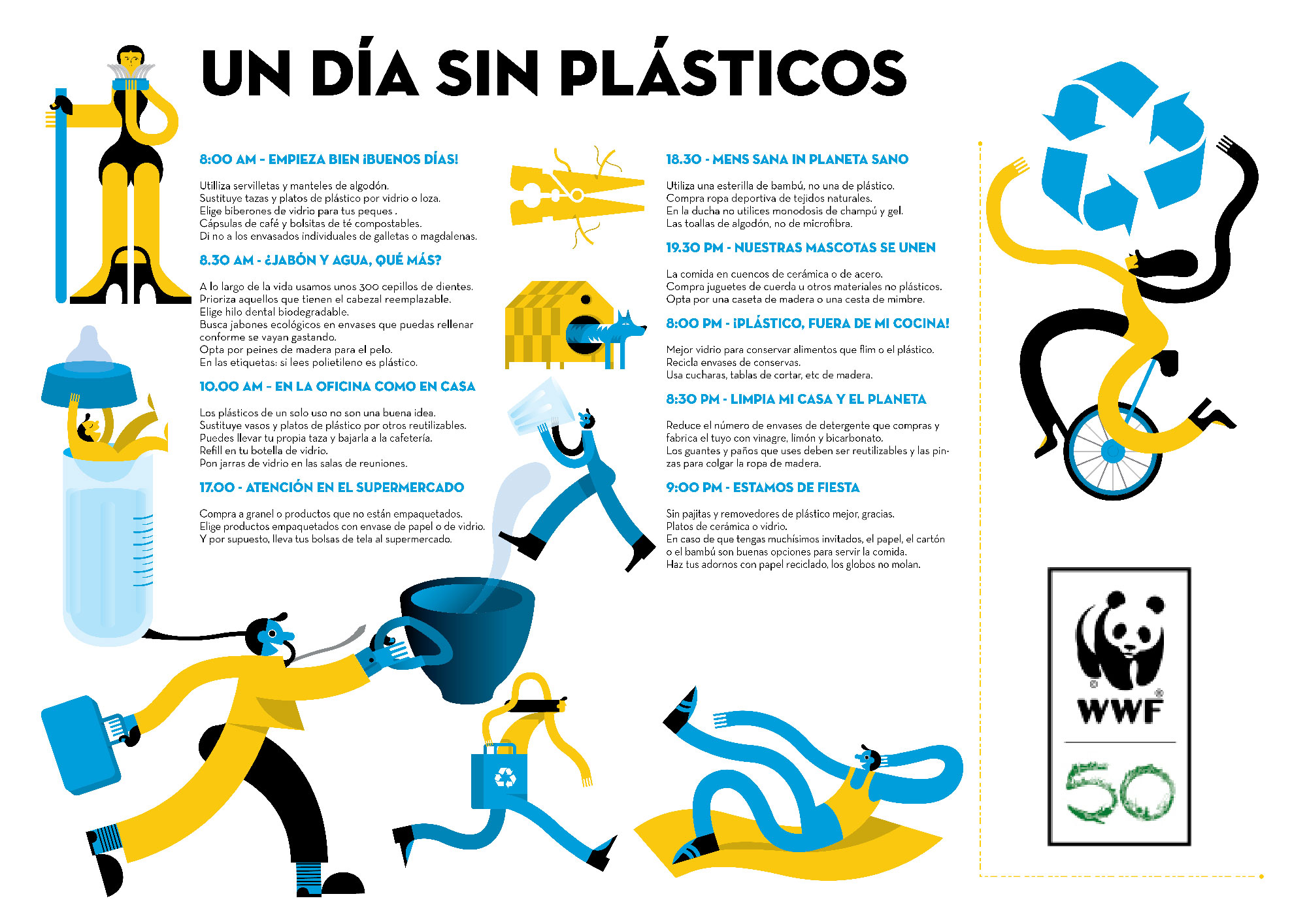 Que plastico vas a dejar de usar a partir del Dia del Mundial del Medio Ambiente