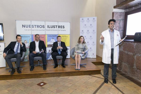 201806 La Fundacion Acuorum presenta la vida de Blas Cabrera fabulada