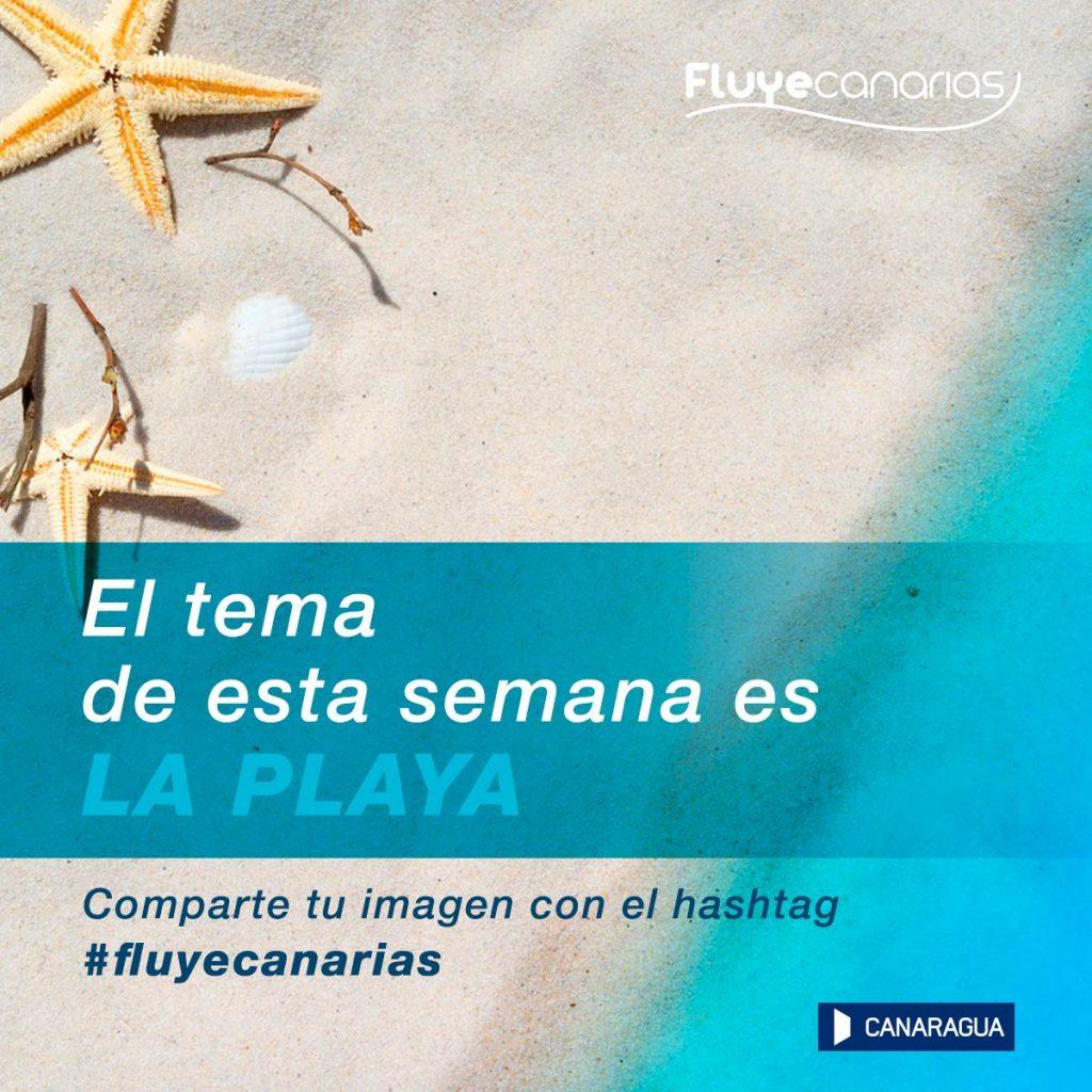 Semana de la Playa Fluye Canarias Instagram