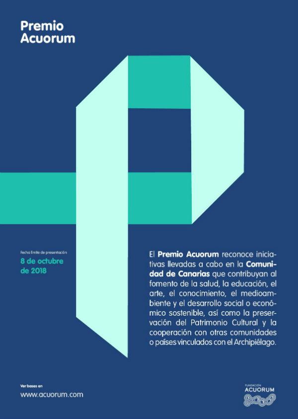 201807 Cartel Premio Acuorum