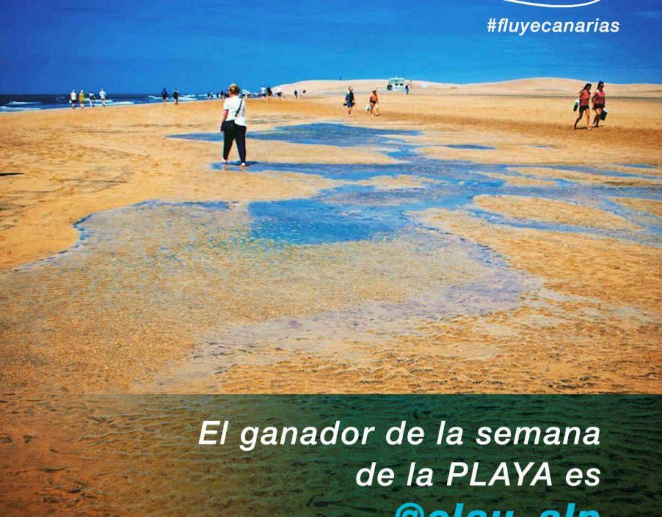 201807-Claudio Lujn Prez consigue ser la foto de la Semana de la Playa