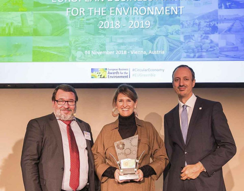 201811 SUEZ España, premiada en los European Business Awards for the Environment