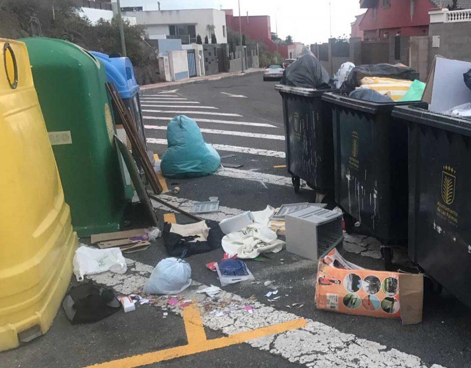 201812 Canarias solo recicla el 12% de sus residuos urbanos