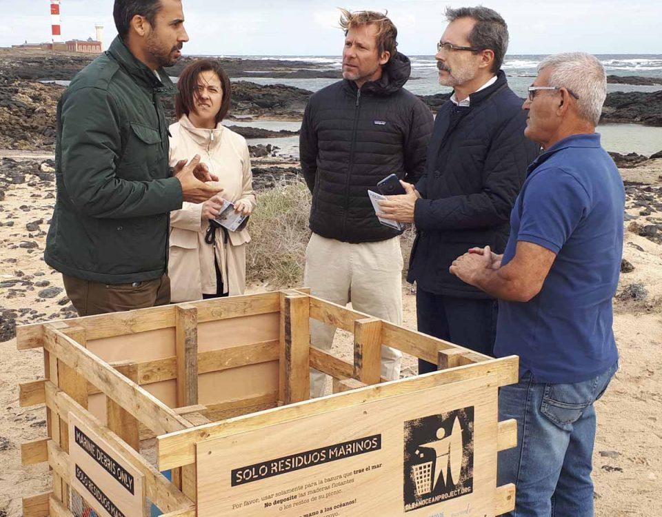 201901 La Oliva y Clean Ocean Project