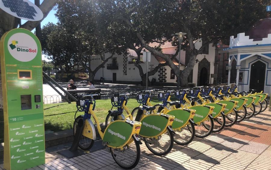 fluye canarias hiperdino bicicleta sitycleta movilidad 1