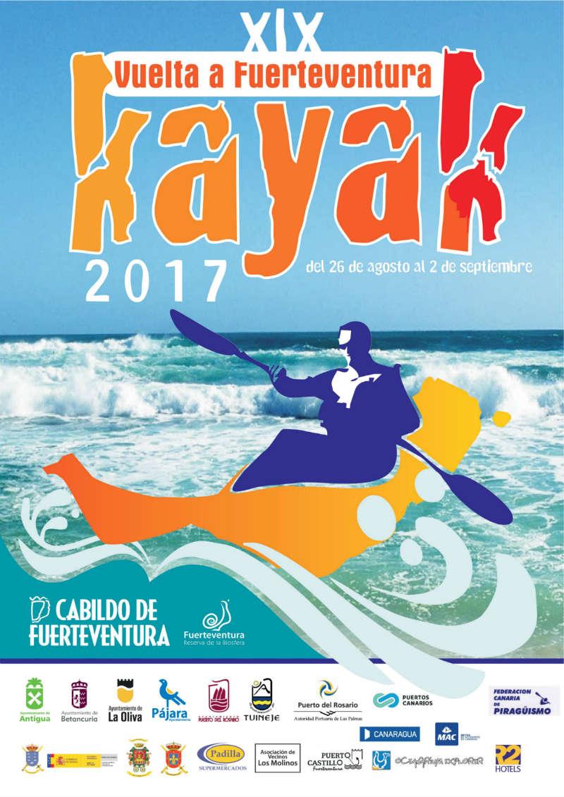 XIX Vuelta a Fuerteventura en Kayak