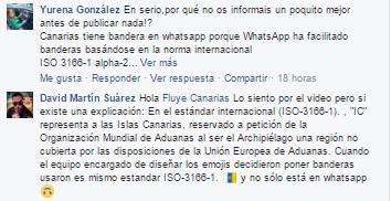 bandera de Canarias comentarios