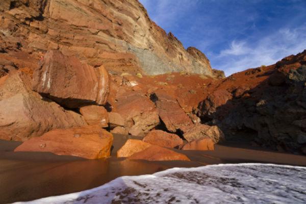 Playas de Canarias. Cala de Tacorón, La Restinga (El Hierro) FOTO: TURISMO CANARIAS