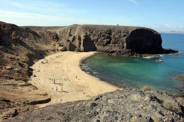 Playas de Canarias. Playa de Papagayo, Yaiza (Lanzarote) FOTO: TURISMO CANARIAS