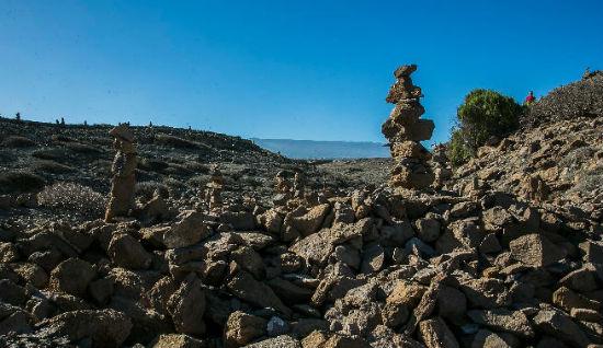 monticulos de piedras Canarias 1