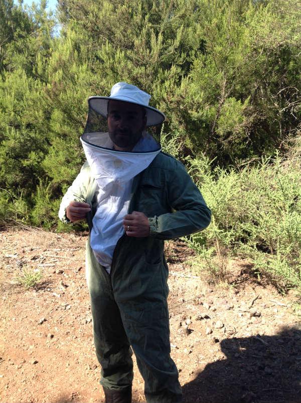 experiencia apicola con Urban Apicultura