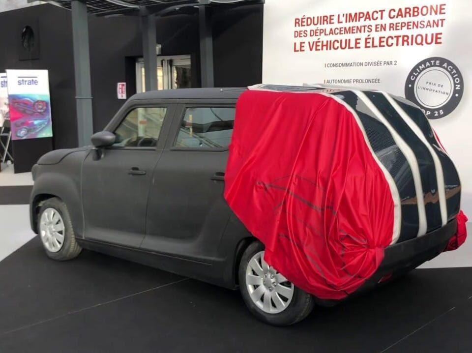 La funda solar que recarga coche es de una compañía francesa