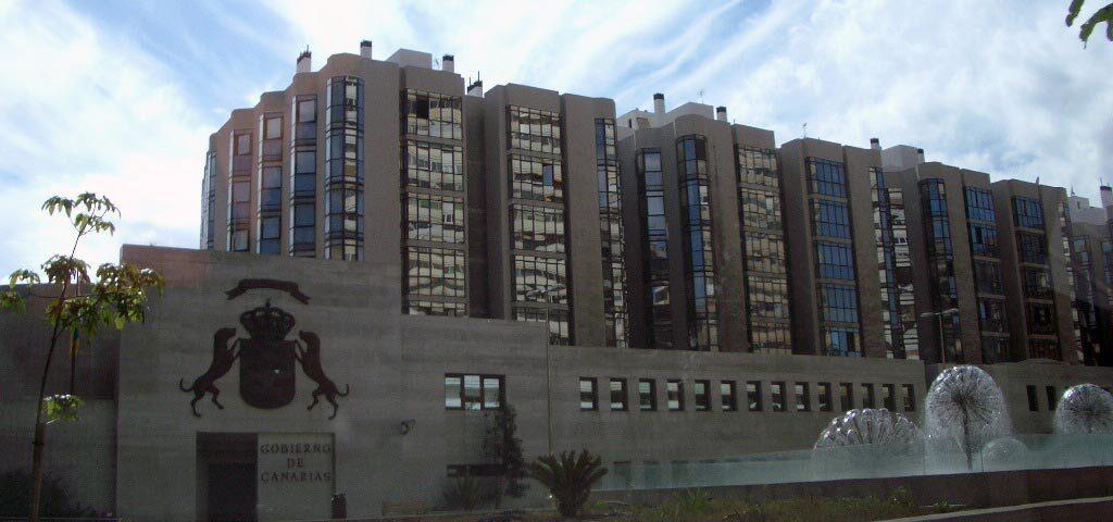 Edificio de Gobierno de Canarias en Las Palmas de Gran Canaria