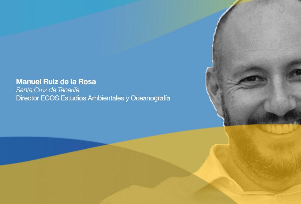 Manuel Ruiz es CEO de ECOS ECOS Estudios Ambientales y Oceanografía
