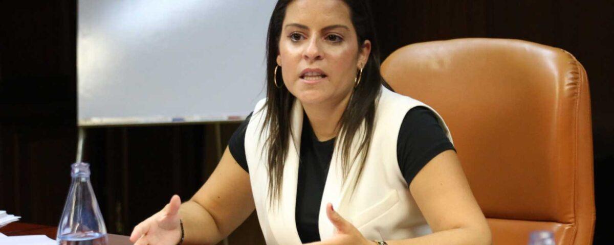 Yaiza Castilla, consejera turismo Canarias