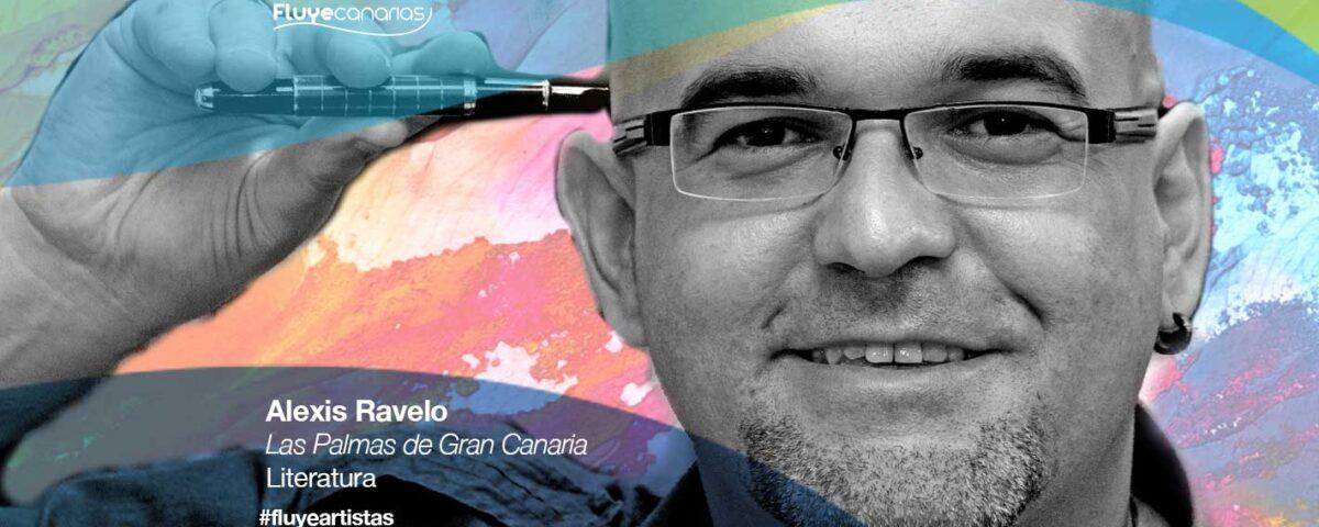 Alexis Ravelo es escritor de Las Palmas de Gran Canaria