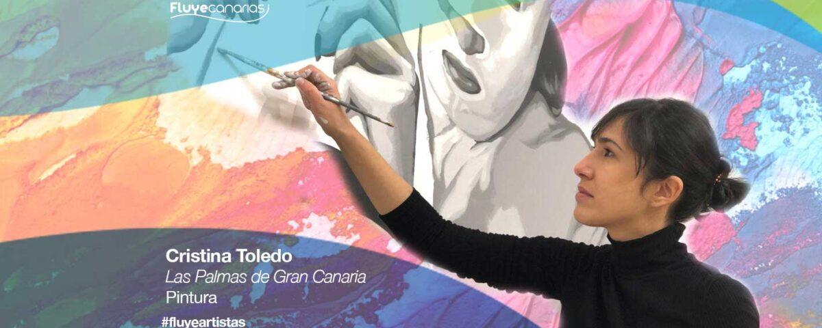 Cristina Toledo es una pintora de Las Palmas de Gran Canaria