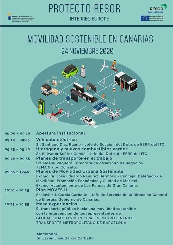 cartel-jornadas-movilidad-sostenible-en-canarias