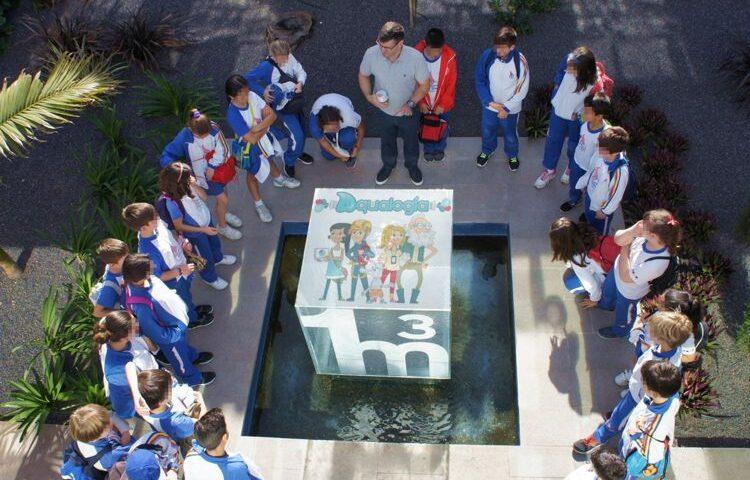 aqualogia es el programa de educacion ambiental de Canaragua