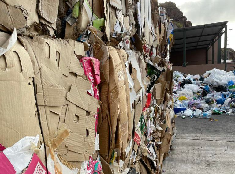 Residuos en La Gomera